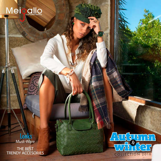 Ofertas de Meigallo, Autumn Winter Collection 2016
