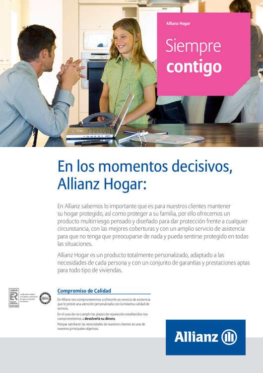 Ofertas de Allianz, Siempre contigo