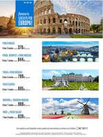 Ofertas de Viajes Ecuador, Circuito Europa