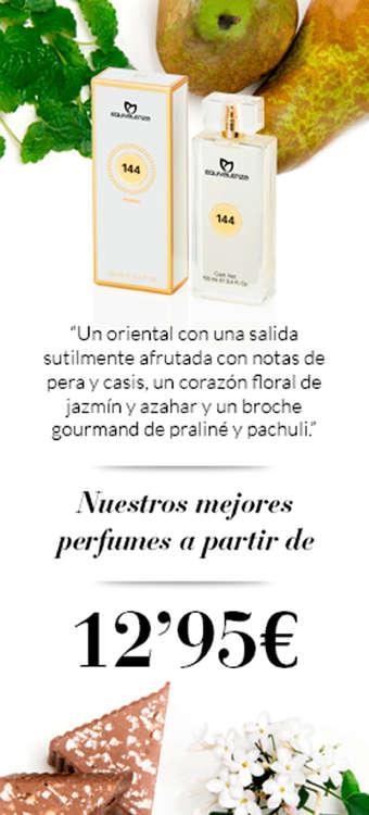 Ofertas de Equivalenza, Perfumes