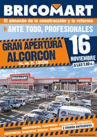 Ofertas de Bricomart, Gran apertura Alcorcón 16 de Noviembre