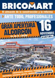 Gran apertura Alcorcón 16 de Noviembre
