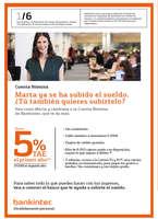 Ofertas de Bankinter, Cuenta Nómina Bankinter
