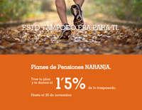 Planes de pensiones Naranja