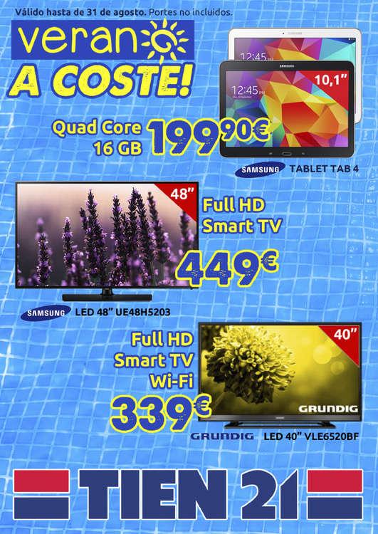 Ofertas de Tien21, Verano a coste!