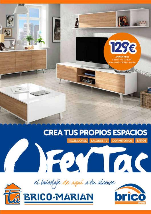 Ofertas de Tú Brico-Marian, Crea tus propios espacios