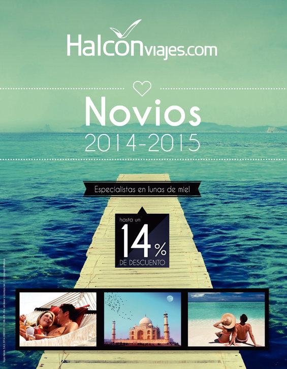 Ofertas de Halcón Viajes, Novios 2014/15