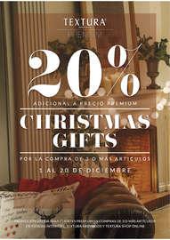 Christmas Gifts: 20% por la compra de 3 o más artículos