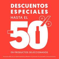 Descuentos especiales hasta el -50%