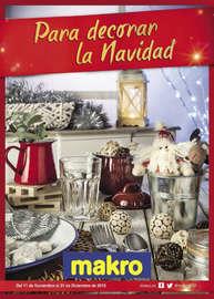 Para decorar la Navidad