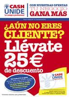 Ofertas de Cash Unide, ¡25€ por hacerte cliente con Ofertia!