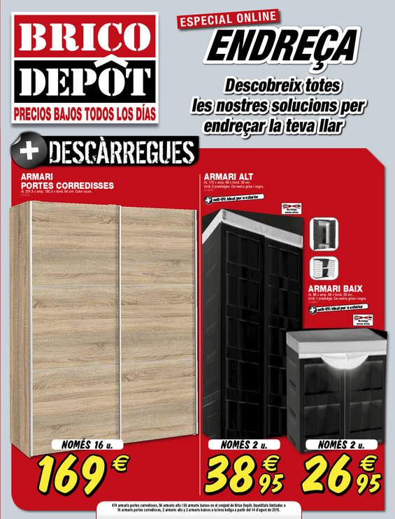 Ofertas de Bricodepot, Endreça - Lleida