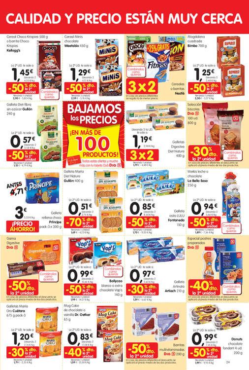 Ofertas de Dia Maxi, Bajamos los precios ¡En más de 100 productos!