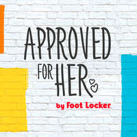 Approved for her by Foot Locker