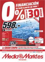 Ofertas de Media Markt, 0% financiación hasta en 30 meses - Vigo