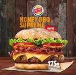 Ofertas de Burger King, Honey BBQ Supreme