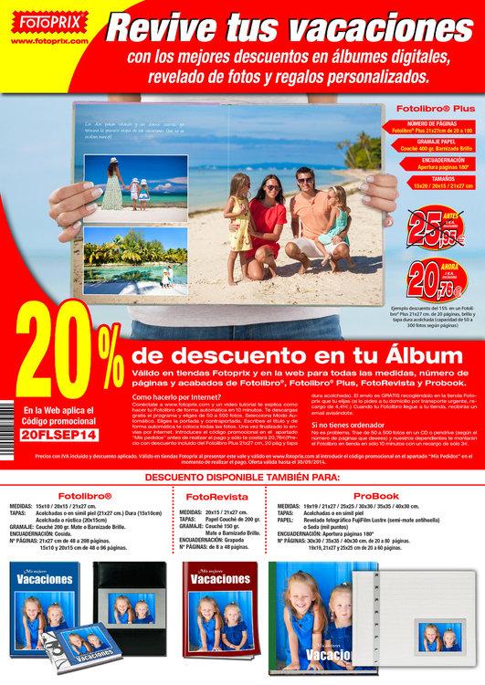 Ofertas de Fotoprix, ¡Revive tus vacaciones!