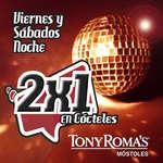 Ofertas de Tony Romas, 2x1 en tu restaurante de Móstoles
