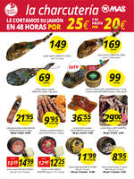 Ofertas de Supermercados MAS, Precio pequeño calidad MAS
