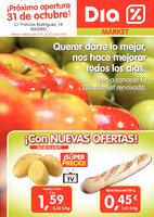 Ofertas de Dia Market, ¡Próxima apertura 31 de octubre!