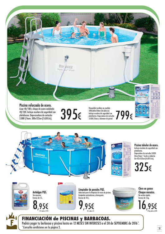 Comprar productos piscinas en sevilla productos piscinas for Suelo piscina carrefour
