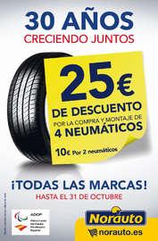 Neumáticos 25€ de descuento