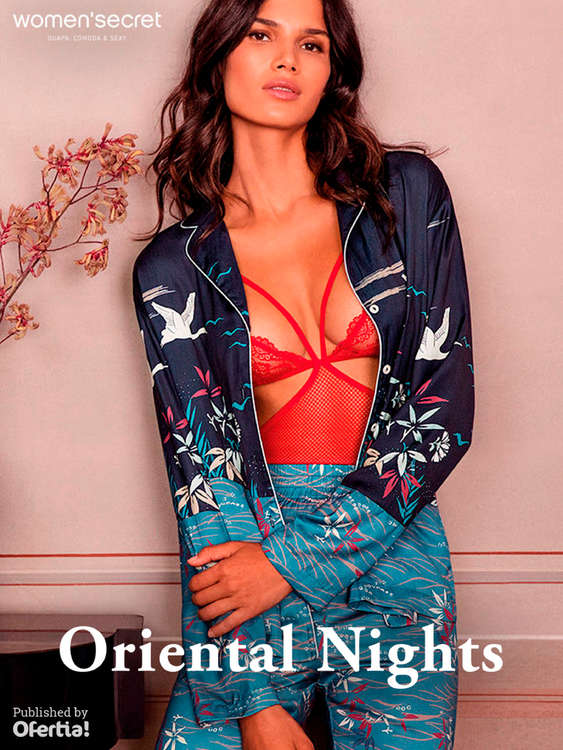 Ofertas de Women'Secret, Oriental Nights