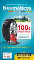 Ofertas de Norauto, Hasta 100€ de descuento en tu próxima compra
