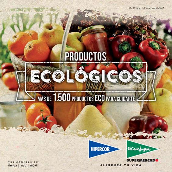 Ofertas de Hipercor, Productos ecológicos
