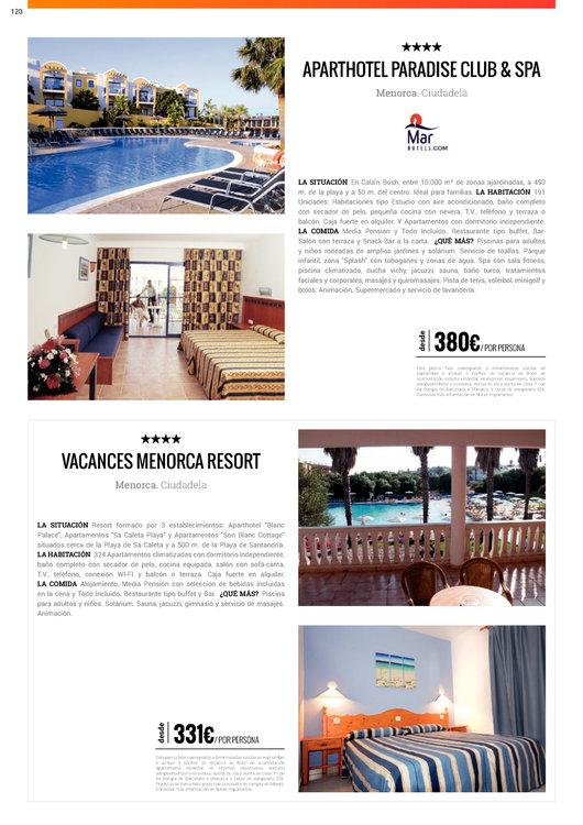 Ofertas de Halcón Viajes, Baleares