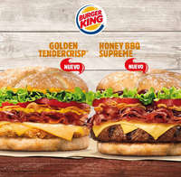Nuevas Golden Tendercrisp y Honey BBQ Supreme