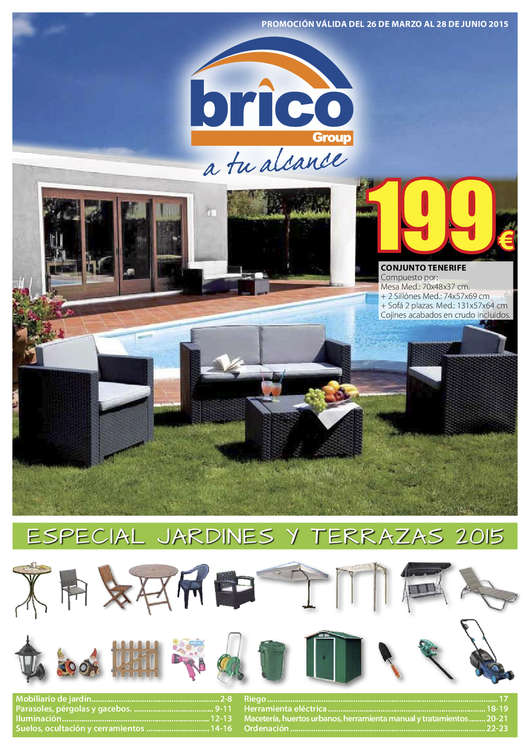 Ofertas de Bricogroup, Jardines y terrazas