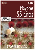 Ofertas de Transrutas, Mayores de 55 - 2016