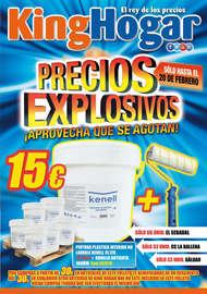 Precios explosivos
