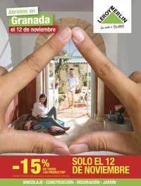 Abrimos en Granada el 12 de Noviembre