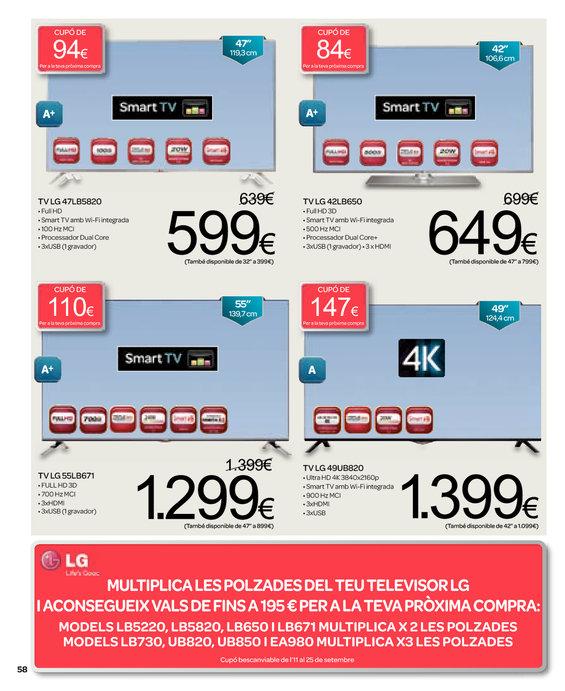 Ofertas de Carrefour, Més de 2000 articles en promoció 3x2