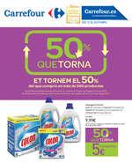Ofertas de Carrefour, 50% que torna