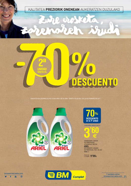 Ofertas de BM Supermercados, - 70% de descuento
