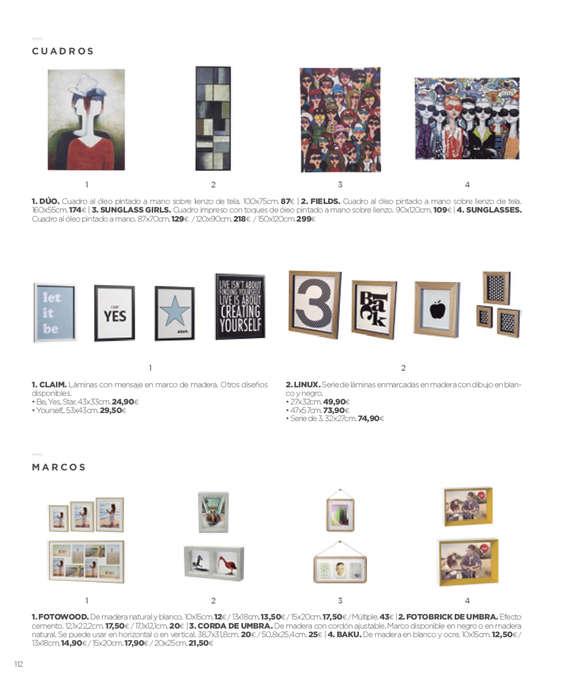 Ofertas de La Oca, Colección 2015 - 2016