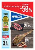 Ofertas de Hipercor, 2ª unidad -50%