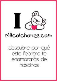 I ❤ Milcolchones.com