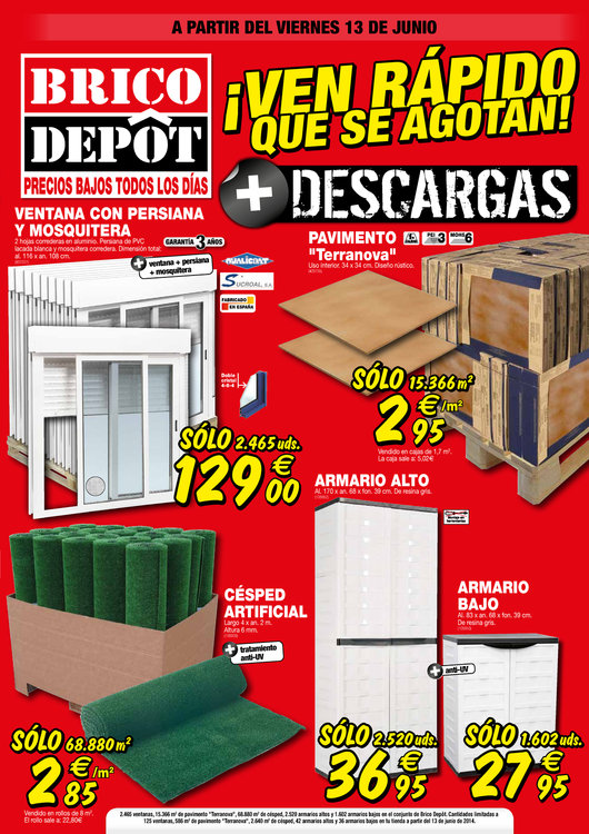 Tiendas bricodepot jerez de la frontera horarios y for Bricodepot granada horario