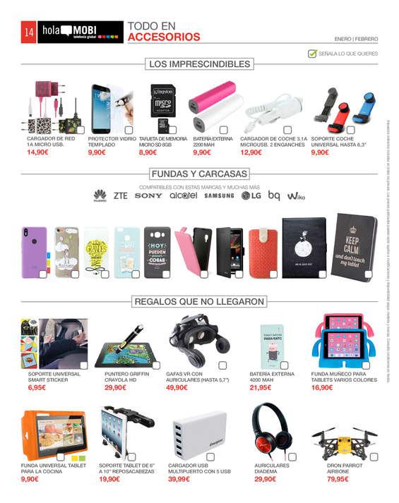 Ofertas de HolaMOBI, Año nuevo, móvil nuevo