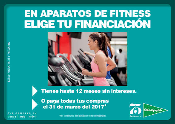 Ofertas de El Corte Inglés, Fitness