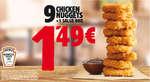 Ofertas de Burger King, ¡Aprovéchate!