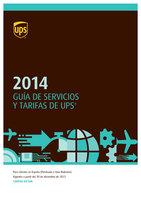 Ofertas de UPS, Guía de tarifas y servicios 2014