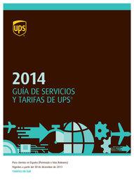 Guía de tarifas y servicios 2014