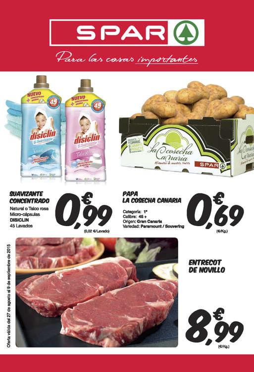 Ofertas de SPAR Gran Canaria, Para las cosas importantes