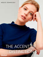 Ofertas de Adolfo Domínguez, The Accent of Distinction