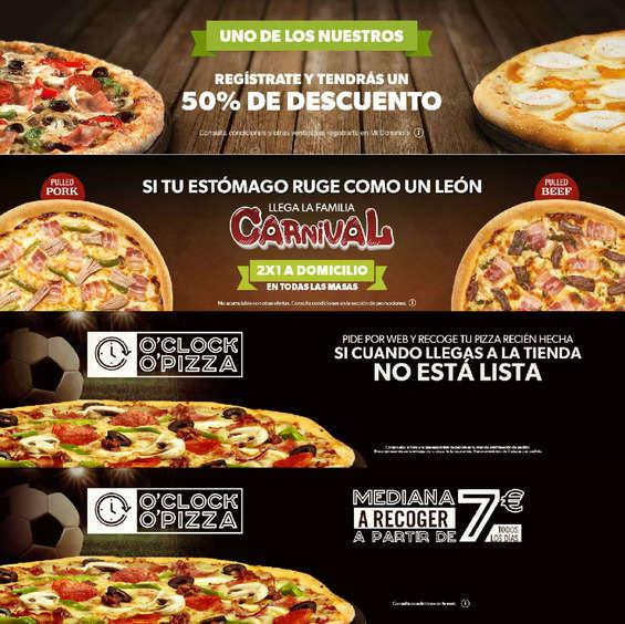 Ofertas de Domino's Pizza, Uno de los nuestros